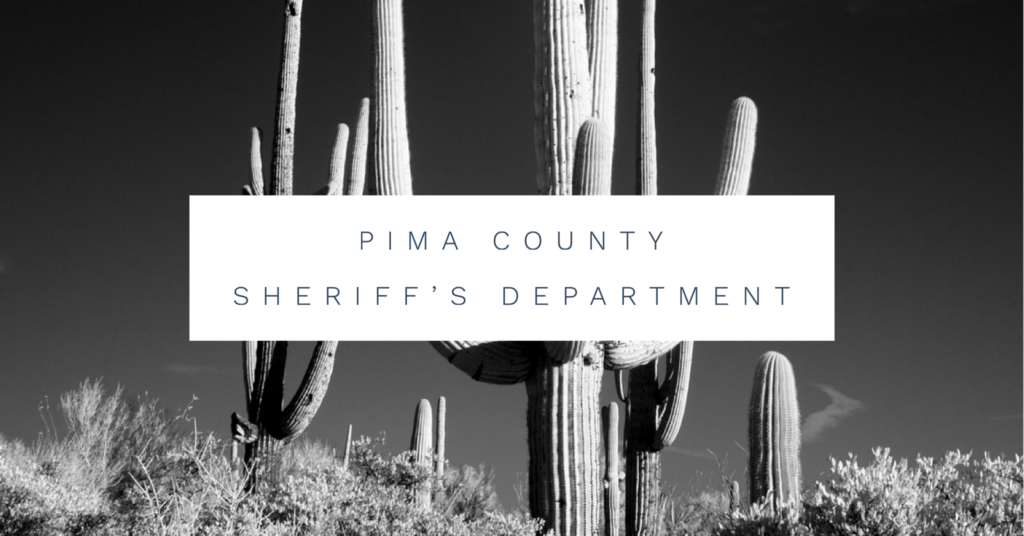 Pima County Sheriff's Department contract